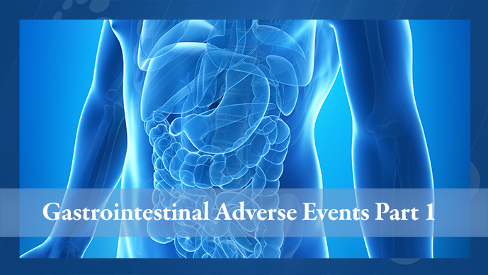 gastrointestinal adverse events in patients with multiple myeloma part 1